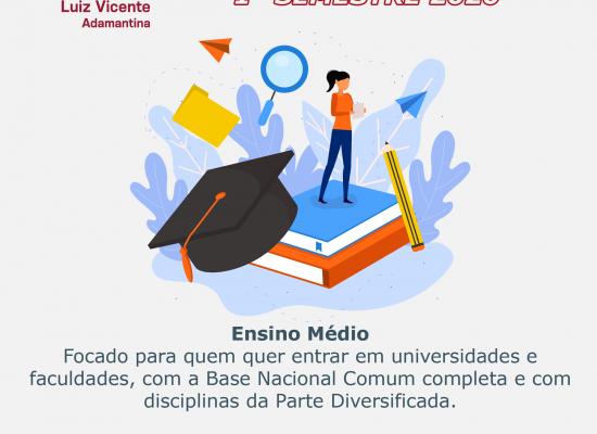 Ensino Médio com Itinerário Formativo – Linguagem, Ciências Humanas e Sociais
